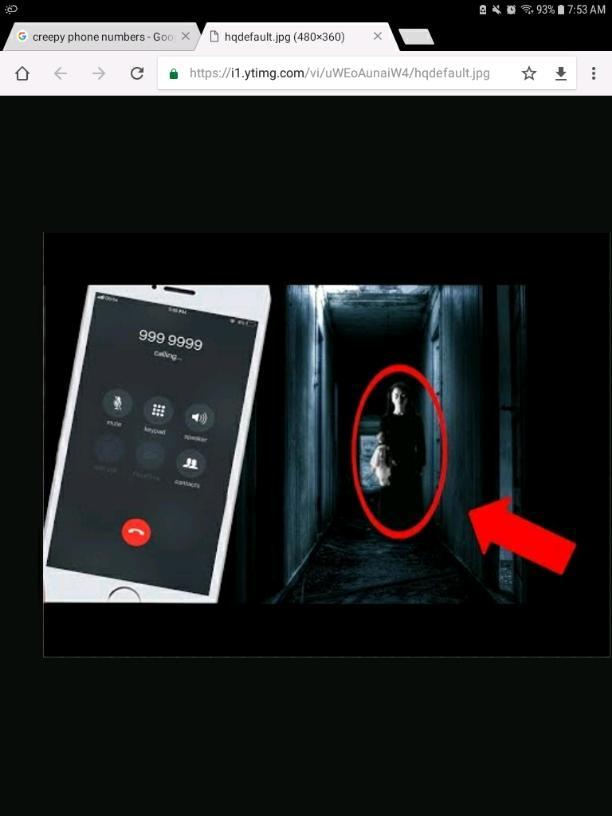 The haunted phone