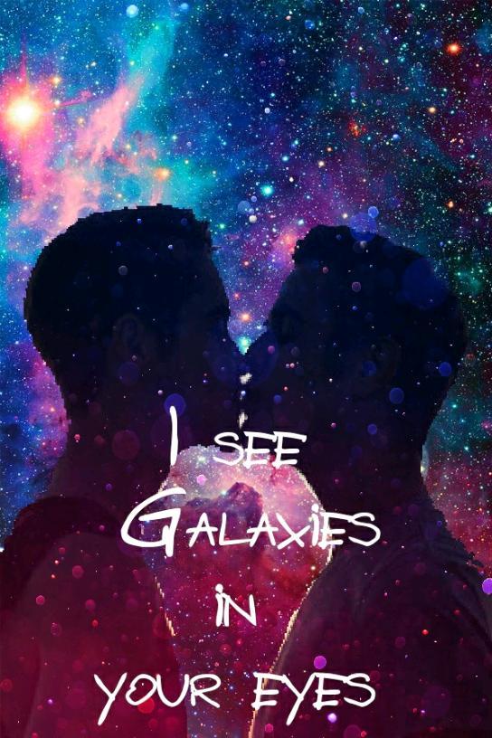 I see Galaxies in your eyes Chapter 2