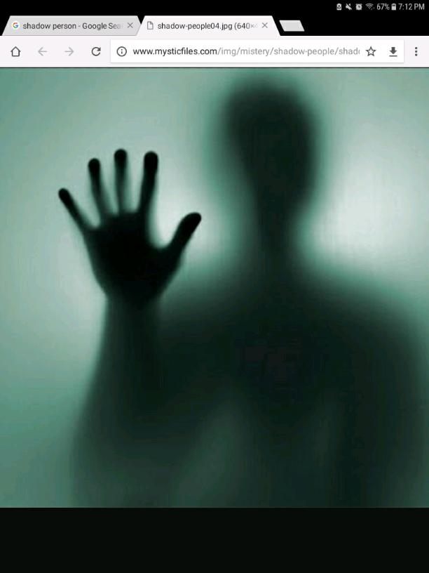 The shadow person
