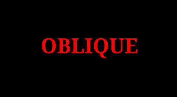 Oblique: C 4