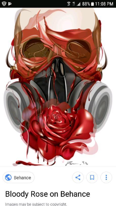 Dead roses,