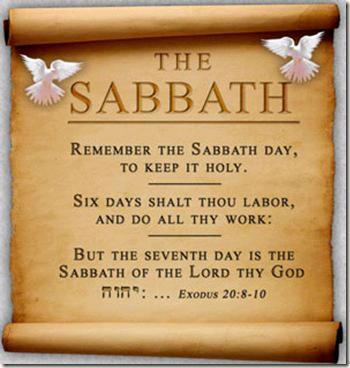 Sabbath devotional