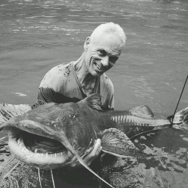 The Man with a Catfish