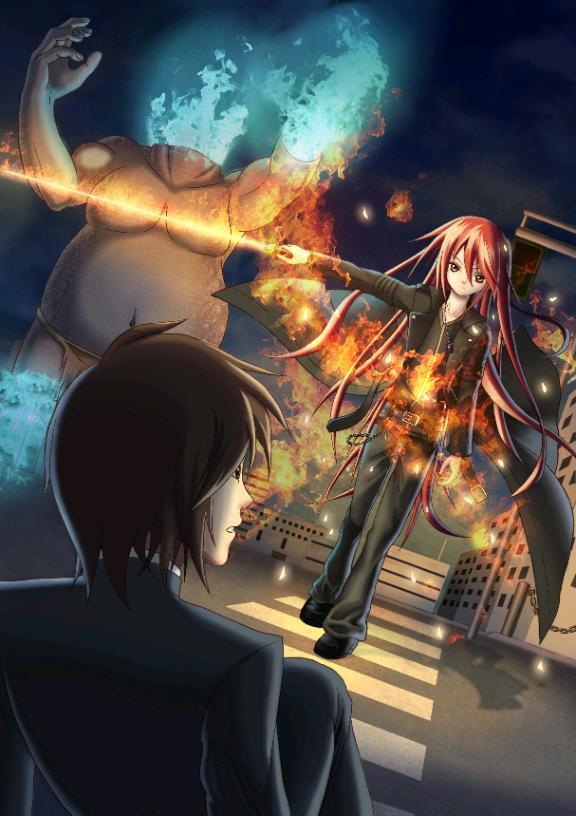 Flame-Haired Hikari Ch. 9 : Shocking News.