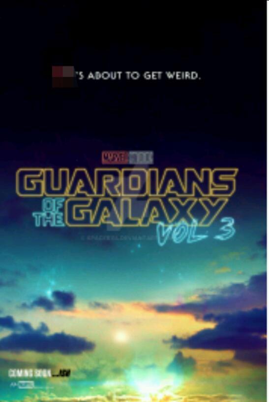 POSTER NO.9: (fan made) Guardians of teh Galaxy Vol.3