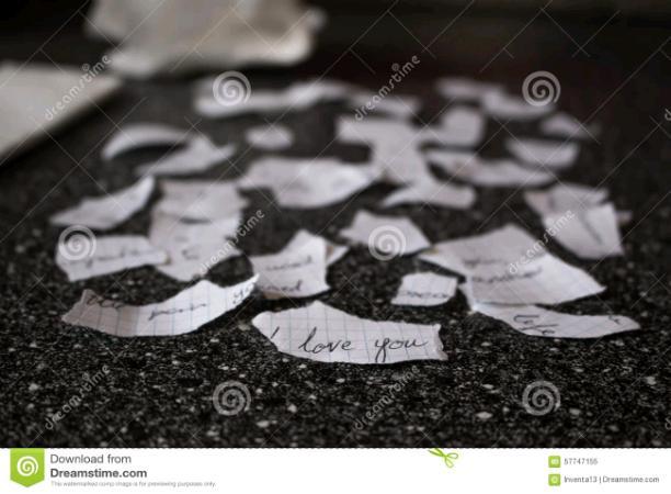 A Broken Letter
