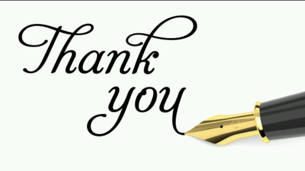 THANK YOU EVERYONE!