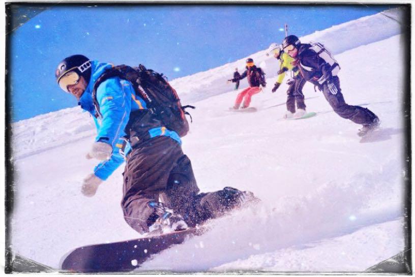 Snowboarding in Rehab