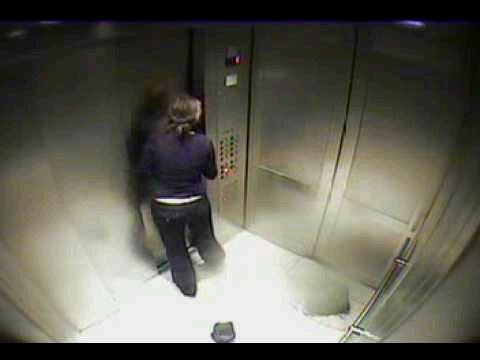 Trapped in a lift