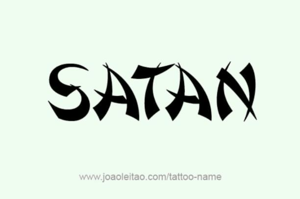 SATAN the great (starts his acts)