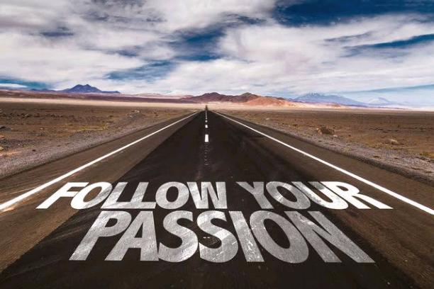 GIVE PASSION IT'S DESERVED