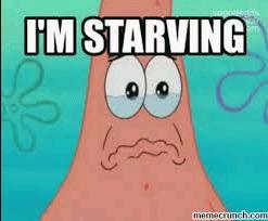 I'm hungry 😖