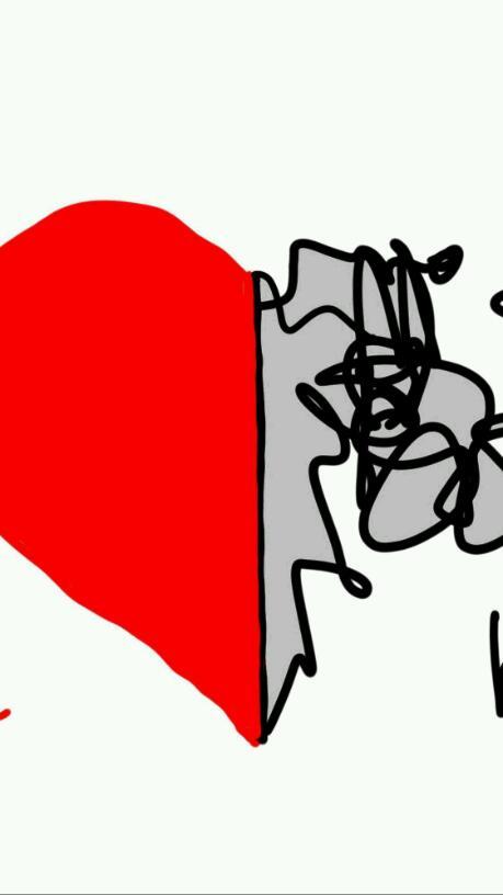 Half-hearted love