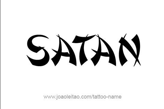SATAN'S APPEARANCE DESCRIPTION