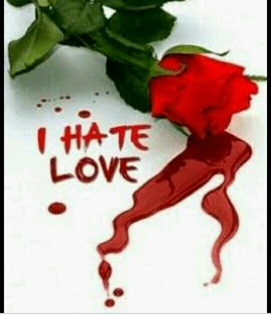 Love story with hate of love