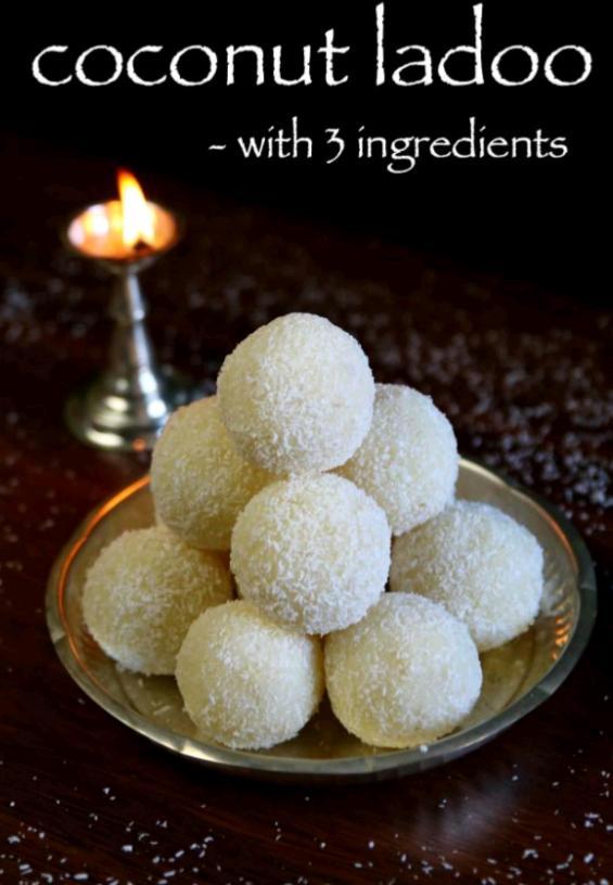 Coconut Laddu    Nariyal laddu