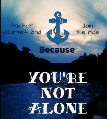 **YOU'RE NOT ALONE**
