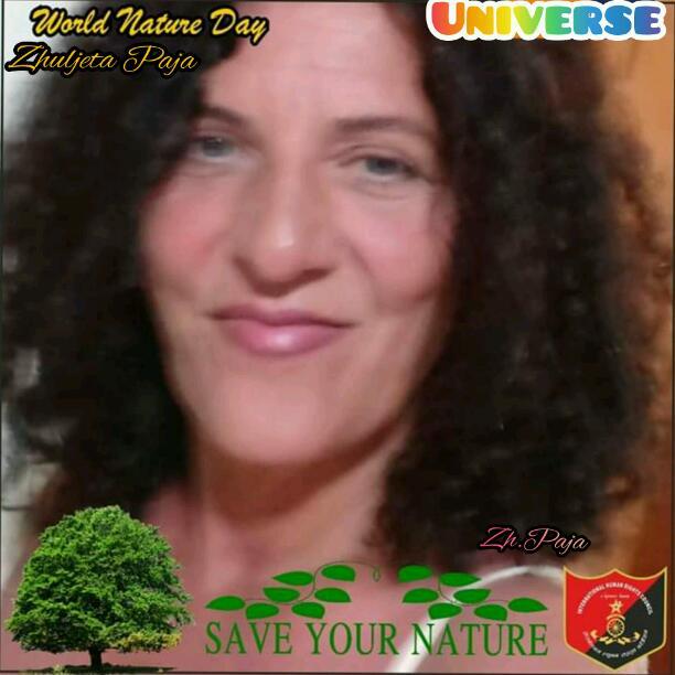 La natura chiede l'amore che significa rispetto, impegno, Responsabilità.