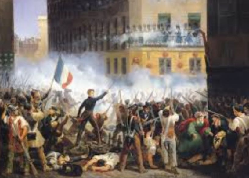 From a Monarch to a dictator- the French Revolution