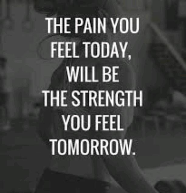 YOUR PAIN TODAY, A STORY TOMORROW.