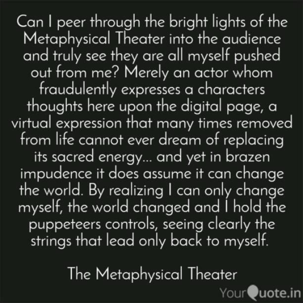 The Metaphysical Theater