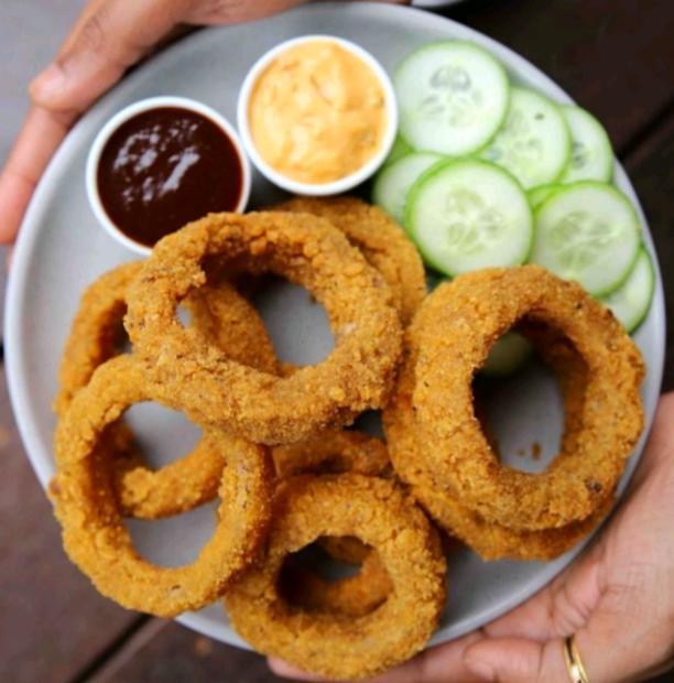 Onion rings | Honey'z corner | #honeyzcorner | #honey'zcorner