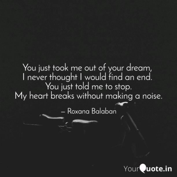Out of your dream