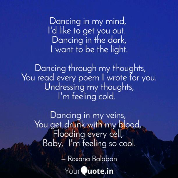 Dancing with me