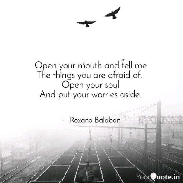 Open your soul