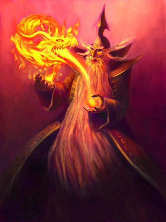 The Wizards Flame