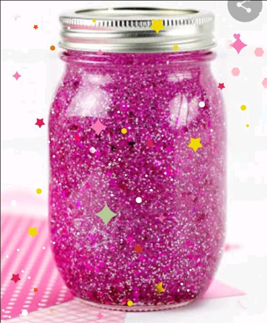 The pink shining jar ✨✨✨