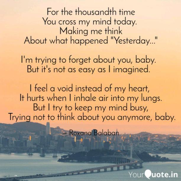 Thousandth time