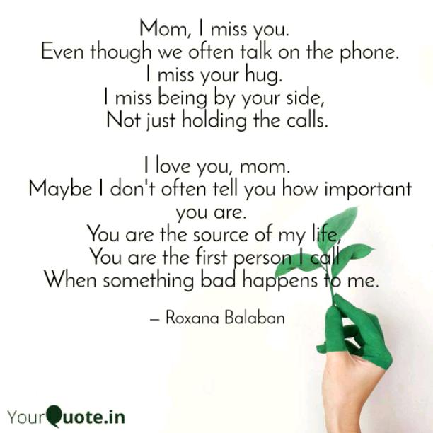 To have a mother like you