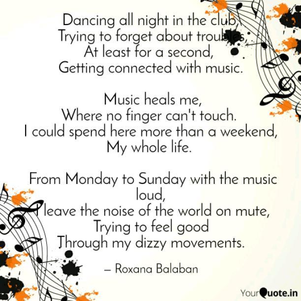 Dancing all night