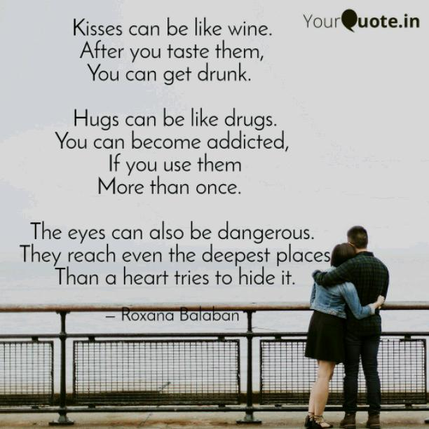Kisses can be like wine