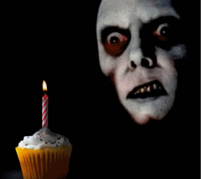 Scary birthday ( part 1 ) Next part coming out on October 31th