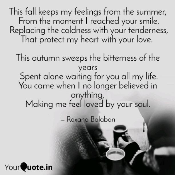 This fall keeps my feelings