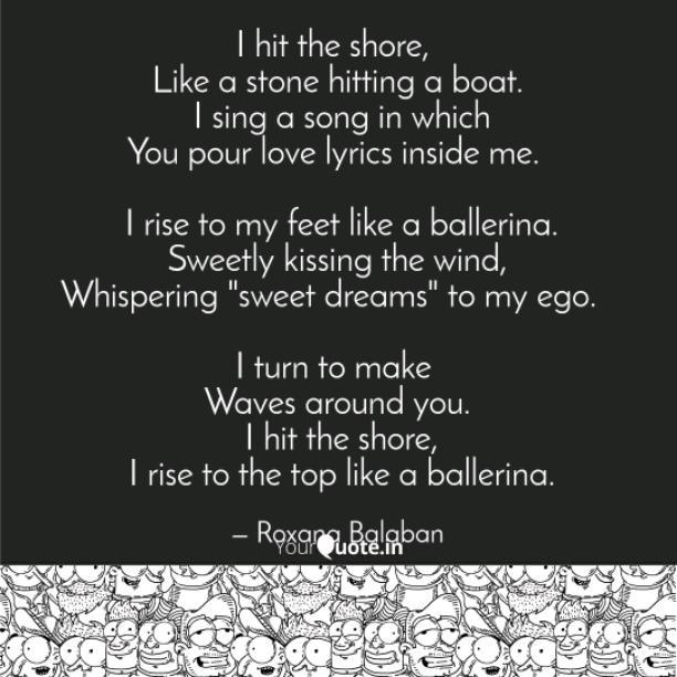 Like a ballerina