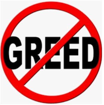 Don't be greedy....