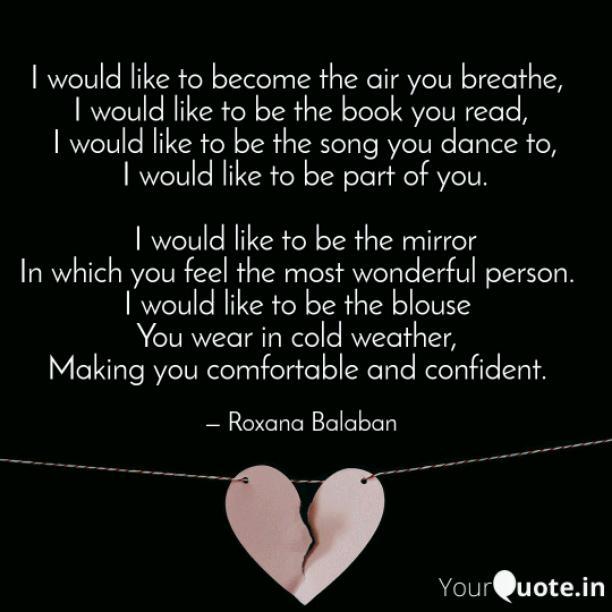 I would like to become