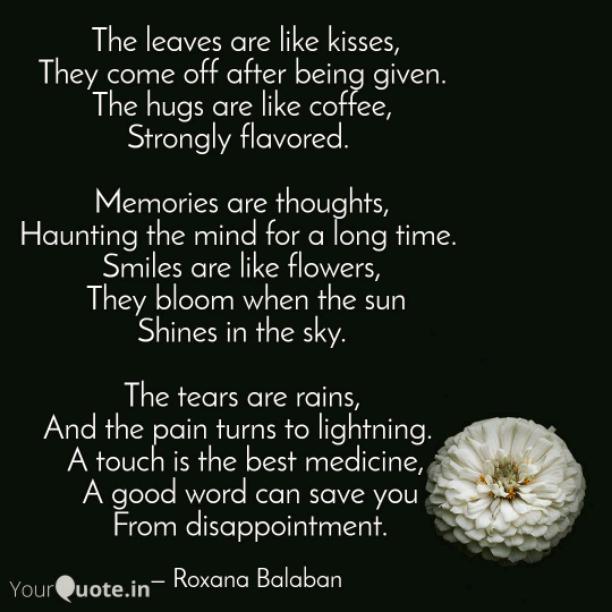 The hugs are like coffee