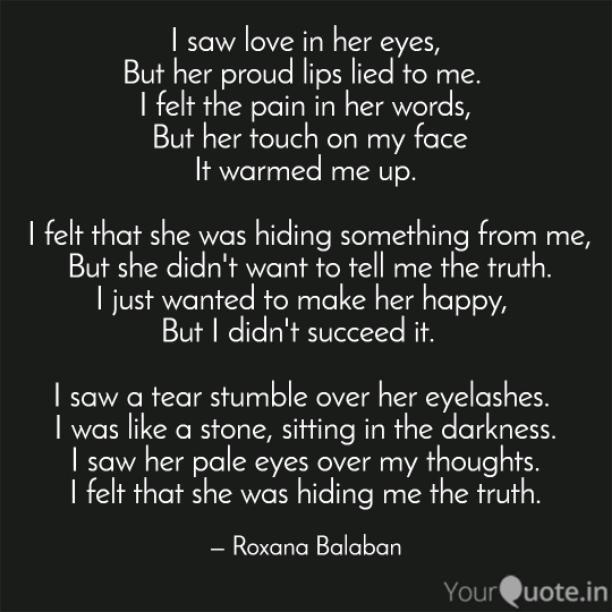 Love in her eyes