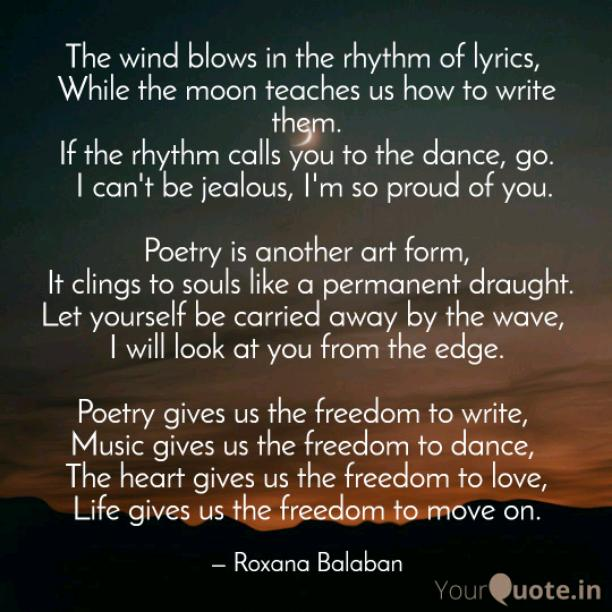 Freedom to write