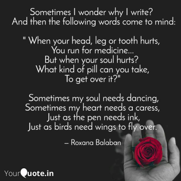 My heart needs a caress