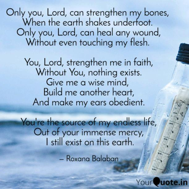 Only You, Lord