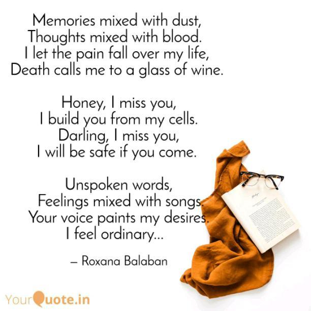 Darling, I miss you