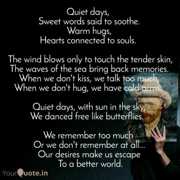 Quiet days