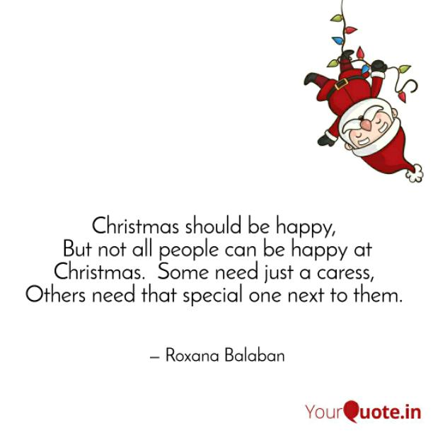 Christmas should be happiness