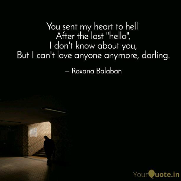 The last hello