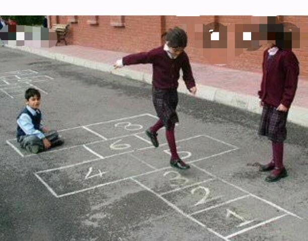 A STREET GAME............